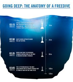 What happens to your body during a freedive to 100m? #2