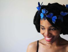 Hair Accessories Butterfly Crown
