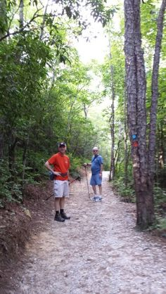 Our hubbies on the trail. Gorges State Park, State Parks, Trail, Country Roads, National Parks