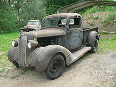 Image result for Plymouth PT-50 rusted gray Vintage Cars, Antique Cars, Pickup Trucks, Plymouth, Mopar, Cool Cars, Mustang, Rust, Classic Cars