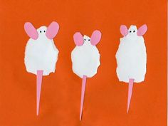 Three Torn Mice - ART PROJECTS FOR KIDS