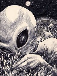 Different Types of Alien Beings Types Of Aliens, Aliens And Ufos, Ancient Aliens, Trippy Alien, Alien Art, Alien Aesthetic, Alien Drawings, Grey Alien, Alien Tattoo