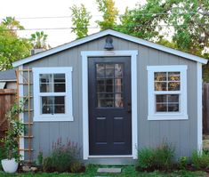Chic Little House - She Shed Project with the Home Depot, Transforming a Tuff Shed into a Backyard Cottage Studio