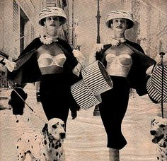 vintage fashion designer bra girdle maidenform 1950 advertisement