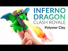Inferno Dragon (Clash Royale) – Polymer Clay Tutorial - YouTube