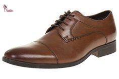 Mens Banfield Cap - Tan Leather Shoes - Chaussures clarks (*Partner-Link)