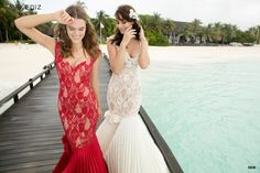 venta de vestidos con encaje