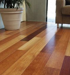 We are creating a pattern with multiple colors of laminate flooring in our living room. Or use hardwood. Mix n Match!!