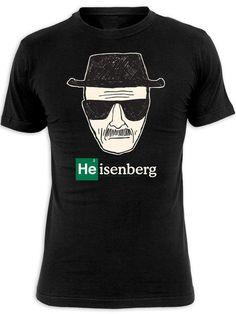 Camiseta Breaking Bad. Heisenberg dibujo