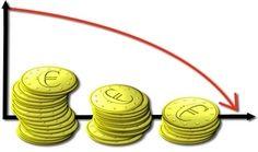 Kúpná sila eura klesá stále viac a viac a viac... čo si za  tento peniaz nakoniec kúpime?