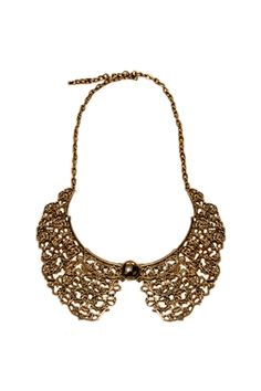 Hollowed Carving Detachable Collar  $15.99  #romwe  romwe.com #Romwe