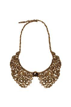 Hollowed Carving Detachable Collar  $15.99  #romwe  romwe.com