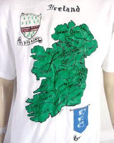 FUNNY IRISH STOUT POGUES TRIBUTE T SHIRT Irish Punk Music Parody Mash-Up Tee