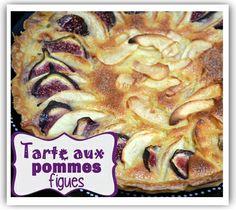 tarte aux pommes à la figue