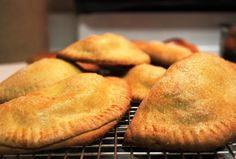 Growing up, my mom's pumpkin empanadas were one of my absolute favorite Fall treats. Made with pumpkin, anise and Piloncillo ( cone-shaped lumps of Mexican style brown sugar). Excellent with coffee or all by their delicious little selves! *You can find Piloncillo at your neighborhood Mexican grocer anytime during the Fall*