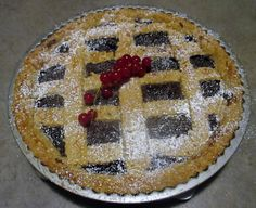 FORNELLI IN FIAMME: TART WITH WHEAT FLOUR 2, WILD BERRIES AND FONDANT ...