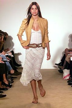 Ralph Lauren Spring 2002 Ready-to-Wear Fashion Show - Alina