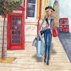 Caroline è una signora olandese che risiede a Barcellona e disegna biglietti augurali sotto il marchio Cartita Design. Ha studiat...
