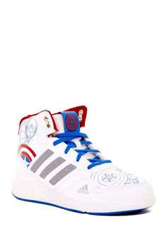 8e9d0011fc9 DY Avengers Hi-Top Sneaker (Little Kid   Big Kid) by adidas on