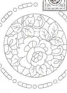 "ru / GWD - Альбом ""Richelieu scheme I"" Cutwork Embroidery, White Embroidery, Vintage Embroidery, Embroidery Stitches, Embroidery Patterns, Machine Embroidery, Lace Painting, Brazilian Embroidery, Pattern Paper"