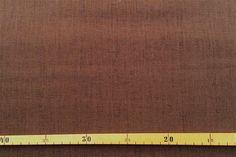 Stoff Streifen - 1 m Leinen braun - ein Designerstück von knopfelfe bei DaWanda