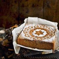 Winter spice cake