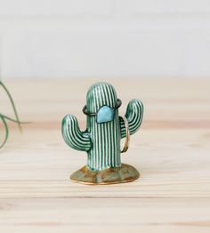 Cactus Ceramic Ring Holder by Fettle & Fire on Scoutmob