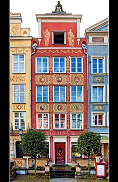 Tenement houses, Gdansk, Poland Copyright: Aleksander Gruszecki
