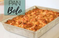 Make your Own – Pan Bolo (Bread Pudding) Aruba Food, Pastry Recipes, Cooking Recipes, Cake Recipes, Good Food, Yummy Food, Exotic Food, Bread And Pastries, Caribbean Recipes