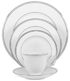 Hmmm I really like this china but i am going to have to order 4 -8 sets to make a complete one and that is very expensive!!!  Lenox Federal Platinum Bone China 5-Piece Place Setting, Service for 1 Lenox,http://www.amazon.com/dp/B00006IZWY/ref=cm_sw_r_pi_dp_TfDFtb15P968Z1A5