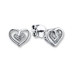 31aed1bfe These delicate heart earrings make the perfect gift for your wife on  Mother's Day. Heart. Kay