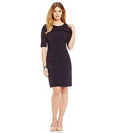 Tahari ASL Bi Stretch Dress #Dillards