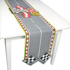 Race Car Birthday Table Runner