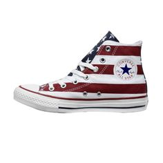 Converse with the US flague !!! Super cute !!