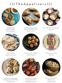 YOU'RE INVITED TO: NEW YEAR'S EVE – The Appetizers