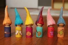 Adorable Chore Gnomes - what a neat way to keep track of chores and make cleaning fun for kids!