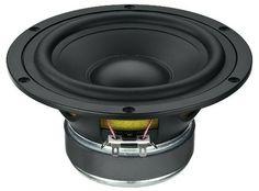 Haut-parleur 18 cm pour enceinte hifi. Un boomer avec très peu de résonnance pour un rendu acoustique unique. Monacor SPH-6M 120W #Monacor