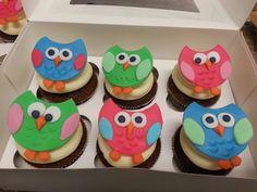 Eulen Cupcakes Desserts, Food, Meal, Deserts, Essen, Hoods, Dessert, Postres, Meals