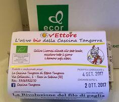 """Confezione Uova Bio della """"Cascina Tangorra"""""""