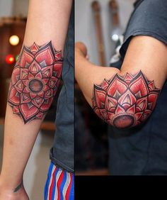 Mandala tattoo bu Yasuno Shigehara. #tattoo #tattoos #ink