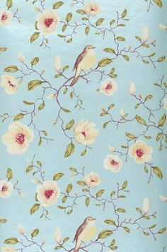 Sanja | Floral wallpaper | Wallpaper patterns | Wallpaper from the 70s