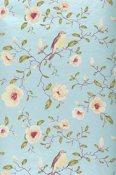 Sanja | Papier peint floral | Motifs du papier peint | Papier peint des années 70