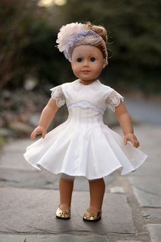 1950s Dress for American Girl 18 inch doll by PemberleyThreads