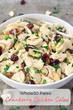 Cranberry Chicken Sa