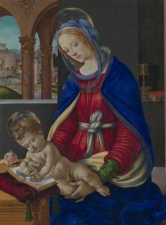 Filippino Lippi ~ Madonna and Child, c.1485