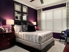 Love this color for spare bedroom