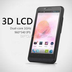 ZOPO Handy Smartphone ZP200+ Dual-Sim MTK6577 1GHz Dual-Core 4.3 Touchscreen Android 4.0 8MP Kamera GPS