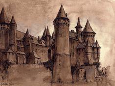 harri potter, magic, hogwarts, castl tea, hogwart castl, castles, hogwart charact, hogwart forev, hogwart school