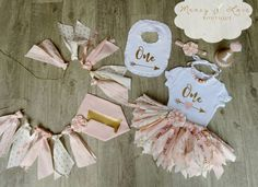 "The ""Pink Tribe"" Fabric Tutu, Birthday Tutu, First Birthday Outfit Girl, Scrappy…"