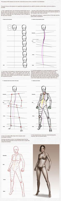 Character creation part 1 construction by PascaldeJong on deviantART via PinCG.com: